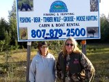 Bear, Wolf, Moose Hunting, Fishing Outfitter - Gathering Lake Outfitters