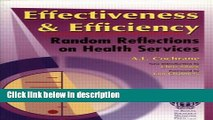 [PDF] Effectiveness   Efficiency: Random Reflections on Health Services [Online Books]