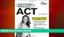 EBOOK ONLINE  English and Reading Workout for the ACT, 2nd Edition (College Test Preparation)