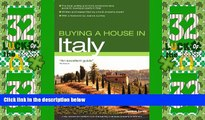 Big Deals  Buying a House in Italy (Buying a House - Vacation Work Pub)  Best Seller Books Most