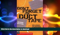 READ  Don t Forget the Duct Tape: Tips   Tricks for Repairing   Maintaining Outdoor   Travel Gear