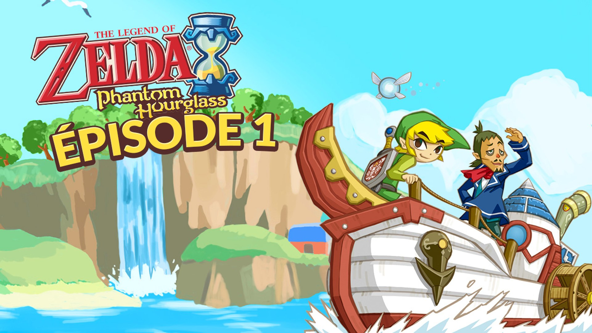 The Legend Of Zelda Phantom Hourglass Episode 1 Le Mysterieux Navire Fantome Video Dailymotion