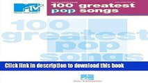 Download VH1 100 Greatest Songs of the 80s Vh1 Selections from 100