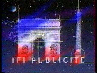TF1 14 juillet 1989 3 pubs, 1 B.A., Sécurité routière, Tapis vert, Salut Thierry