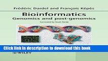 [Popular Books] Bioinformatics: Genomics and Post-Genomics Full Online