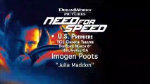 Need For Speed - Interview Imogen Poots (3) VO