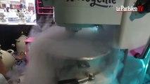 On a testé la glace à l'azote liquide