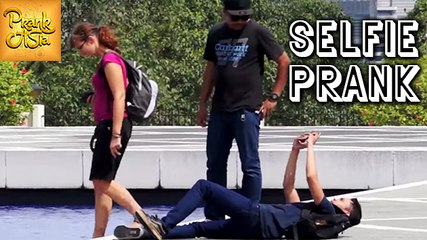Crazy Selfie Prank | Funny Reactions | Prank Asia