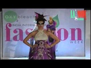 Gorgeous Hot Models in India International Fashion Week Delhi | La Mode Fashion Tube