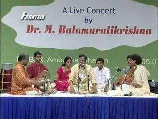 Dr  Balamurali krishna