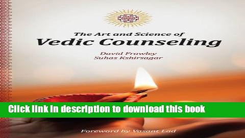 [Download] The Art and Science of Vedic Counseling Kindle Free