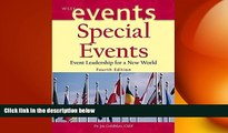 EBOOK ONLINE  Special Events: Event Leadership for a New World (The Wiley Event Management