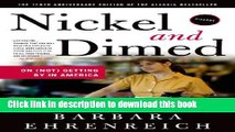 [Popular] Nickel and Dimed: On (Not) Getting By in America Paperback Collection