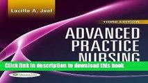 [Popular Books] Advanced Practice Nursing: Essentials of Role Development Full Online