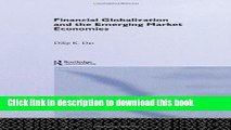Ebook Financial Globalization and the Emerging Market Economy Full Online