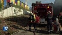 Incendies dans le sud: les pompiers évaluent l'ampleur des dégâts