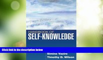 Big Deals  Handbook of Self-Knowledge  Best Seller Books Most Wanted