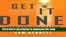 [Popular] Get It Done: From Procrastination to Creative Genius in 15 Minutes a Day Hardcover Free