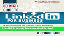 [Popular] Ultimate Guide to LinkedIn for Business (Ultimate Series) Kindle Free