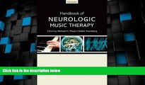 Big Deals  Handbook of Neurologic Music Therapy  Free Full Read Most Wanted