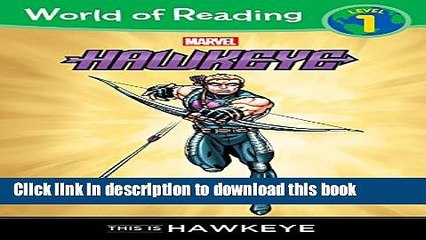 download world of reading hawkeye this is hawkeye paperback online