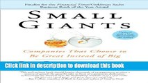 [Popular] Small Giants: Companies That Choose to Be Great Instead of Big Paperback Free