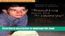 [Popular] Reading Don t Fix No Chevys: Literacy in the Lives of Young Men Hardcover OnlineCollection