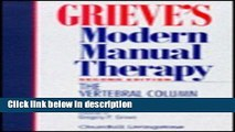 Books Grieve s Modern Manual Therapy: The Vertebral Column, 2e Free Online