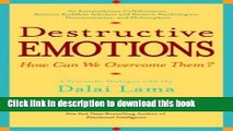 [Download] Destructive Emotions: A Scientific Dialogue with the Dalai Lama Paperback Collection