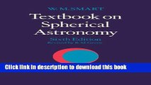 [Download] Textbook on Spherical Astronomy Hardcover Free