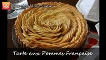 Tarte aux Pommes Française - Delicious French Apple Tart - تارت التفاح بسيطة