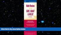FREE PDF  Math Review: GRE, GMAT, MCAT 2nd ed (Peterson s GRE/GMAT Math Review)  FREE BOOOK ONLINE