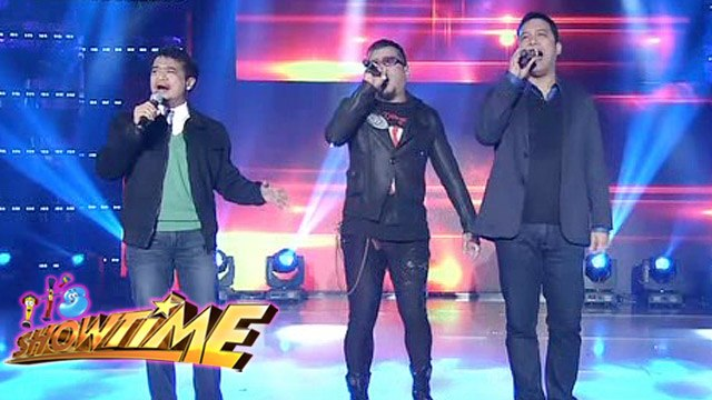 It's Showtime: OPM Legends Lloyd, Renz and Richard relive 90s hits