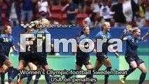 Rio Olympics 2016- Sweden Knocks out USA in Penalties of football quaterfinal Olympic 2016