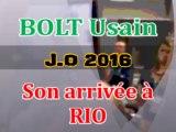 Usain BOLT à Rio de Janeiro - Jeux olympiques 2016 - Brésil