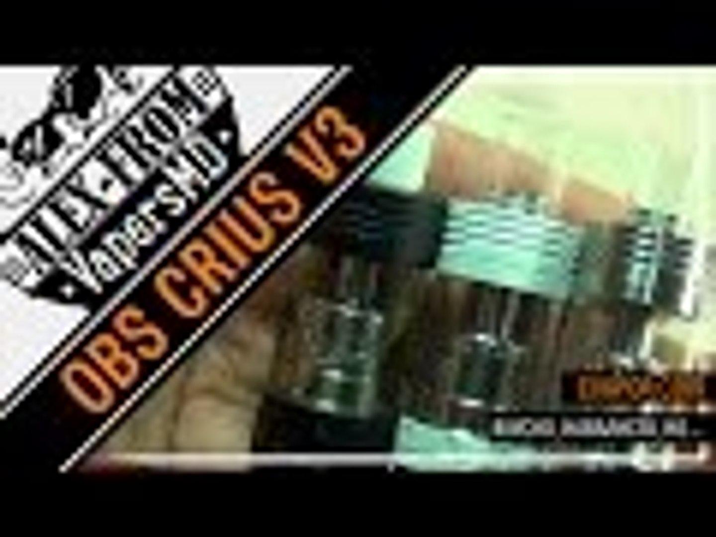 OBS Crius RTA (Velocity style deck) | from cvapor.com | вкусно, навалисто, но...
