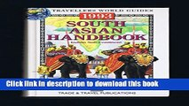 [Download] South Asian Handbook 1993: India, Pakistan, Nepal, Bangladesh, Sri Lanka, Bhutan, the