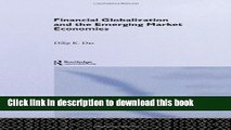 [Download] Financial Globalization and the Emerging Market Economy Kindle Free