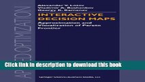[Download] Interactive Decision Maps: Approximation and Visualization of Pareto Frontier Kindle Free
