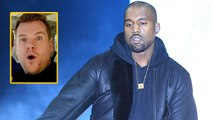 Kanye West Disses James Corden