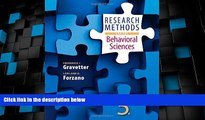 Big Deals  Research Methods for the Behavioral Sciences  Free Full Read Most Wanted
