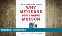 READ book  Why Mexicans Don t Drink Molson: Rescuing Canadian Business From the Suds of Global