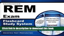[Download] Flashcard Study System for the REM Exam: REM Test Practice Questions   Review for the