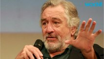 "Robert De Niro Tells Audience ""Trump Is Nuts"""