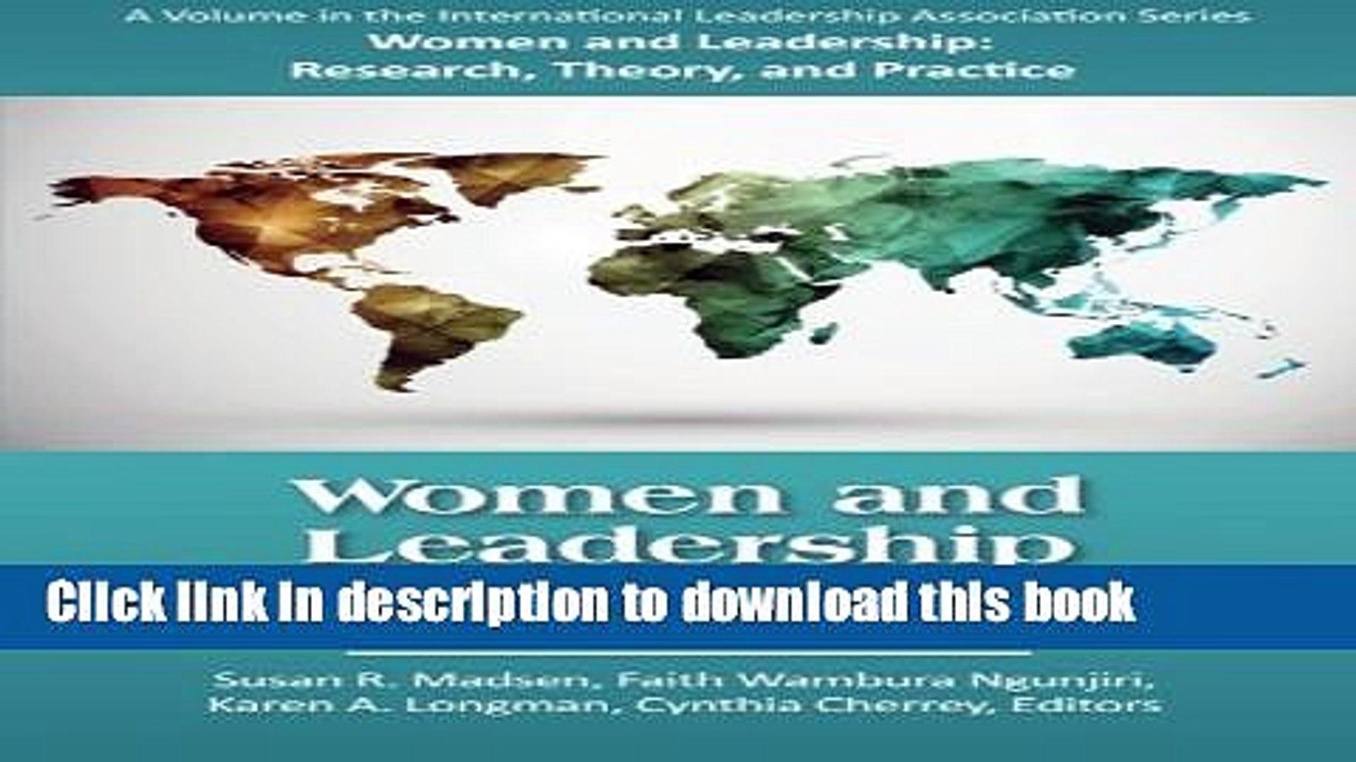[Popular] Women and Leadership around the World Hardcover Online