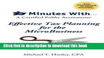 [Popular] 30 Minutes With...a Certified Public Accountant: Effective Tax Planning for the