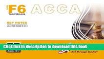 [Popular] ACCA F6 -taxation (UK) 2012: Paper F6 Kindle Free