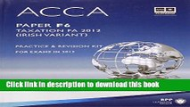 [Popular] ACCA F6 Irish Tax: Paper F6: Revision Kit Kindle Collection