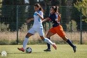 D1 féminine - Montpellier 2-4 OM : le but de Cindy Caputo (13e)
