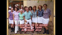 SORTIE MAIRIE & FLASHMOB - Mariage Virginie & Yann